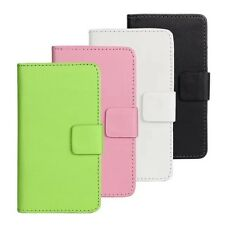PU Leather Wallet Mobile Cell Phone Case Cover  For Sony Xperia With Card Holder