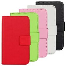 PU Leather Wallet Mobile Phone Cell Case Cover For Huawei With Card Holder