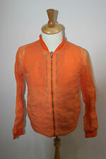 esemplare jacket  made in italy £490 new 3 in one jacket orange george
