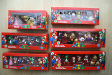 SUPER MARIO BROS, BOX SETS - YOSHI, BOWSER, KOOPA, MARIO, LUIGI, BOO - WII & 3DS