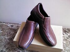 Brand New COLE HAAN Air Everett Slpon II Brown LEATHER CASUAL SNEAKERS
