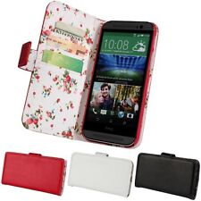 Country Style Lanyard Function Wallet PU Leather Case Cover For HTC