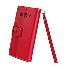 Country Style Lanyard Function Wallet PU Leather Case For Huawei G520/G525 /Y300
