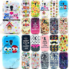Hot Sale Cartoon Soft TPU Gel Rubber Case Cover For Samsung Galaxy S3 mini i8190