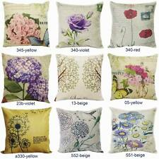 """New 18"""" Vintage Throw Pillow Case Home Decorative Sofa Cushion Cover Floral"""
