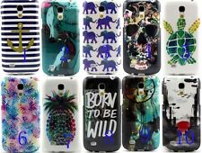 Watercolor Fruit Drawing TPU Back Case Skin for For Samsung Galaxy S4 Mini i9190
