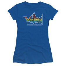 Voltron Defender Of The Universe Logo Licensed Junior Shirt S-XL