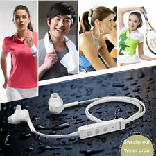 Sport Waterproof Bluetooth V4.0 Wireless Stereo Headset MIC for Galaxy S3 S4 S5