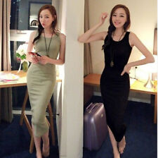 New 2014 Summer Sexy Women Spaghetti Strap Bodycon Bottoming Dress Vestidos 058