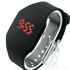 Fashion LED wrist watch Multifunction devise Plastic Numbers Military Baldric A