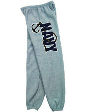 NEW NWT US Navy Military Branch Sweatpants - Armed Forces Seal Logo