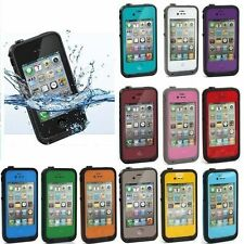 BEST WATERPROOF SHOCKPROOF CASE FOR APPLE IPHONE 4/4S RETAIL PACKAGE!