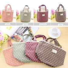 Girl Kids Tote Thermal Insulated Lunch Box Carry Bag Cooler Storage Picnic Pouch