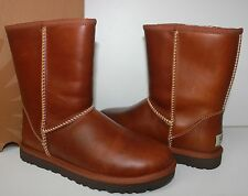 Ugg Classic Short chestnut leather women's boots New In Box