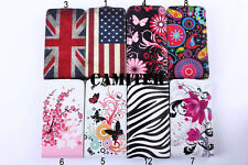 Flower Butterfly Hard Leather Case Cover For LG Optimus L7 II L7 Dual P710 P713