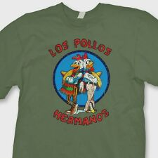 LOS POLLOS HERMANOS T-shirt Walter White Breaking Bad Heisenberg Tee Shirt
