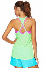 NEW LORNA JANE1 Singlet/Tank Size XS S M L 8 10 12 14Yoga gym Sport Top Tee