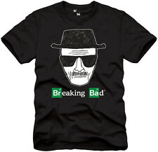 Breaking Bad Logo Heisenberg Sketch NWT Officially Licensed Men's T-Shirt