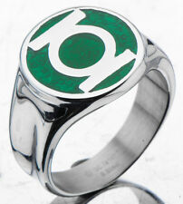 DC Universe Officially Licensed Green Lantern Stainless Steel Ring