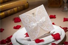 50 Sets Wedding Invitations Cards Complimentary envelopes and seals BH2065