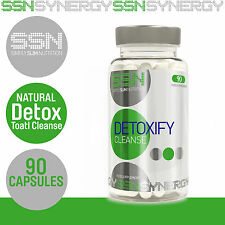 SSN Detoxify Gentle Natural Detox Weight Loss Cleanse Diet Slimming Pills Tablet