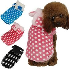 Cute Rabbit Design Dog Clothes Pet Clothing Hoodie Puppy Cat Sweater Costumes