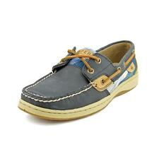 Sperry Top Sider Bluefish Novelty Womens Nubuck Leather Boat Shoes