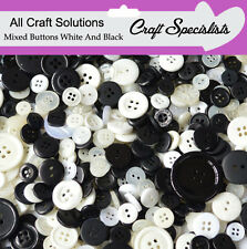 Top Quality WHITE & BLACK  Buttons / Plastic Buttons / Assorted Buttons