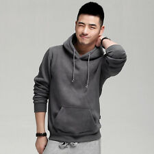 CHEAP Men Slim Fit Hooded Coats Casual Hoodies Pullover Cardigan Jackets Sweats