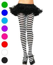 Nylon Stripe Tights Pantyhose - Leg Avenue 7100