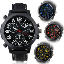 Outdoor Sport Rubber Band Cool Big case made in China Men's Watch