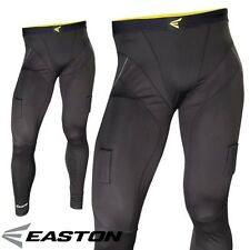 New Easton Stealth II Compression Jock Hockey Pants w Cup & Velcro To Hold Socks