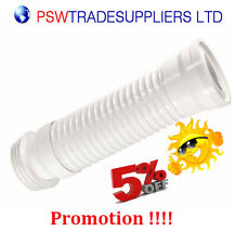 Flexible Toilet WC Waste Flexi Pan Connector Soil Pipe
