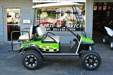 Custom Lifted CLUB CAR GOLF CART 4 PASSENGER $1000's in Extras  $399 Shipping