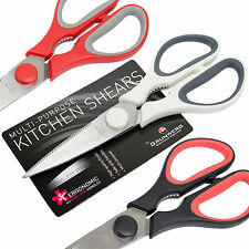 Grunwerg Stainless Steel General Purpose Kitchen House Scissors Meat Herb Shears