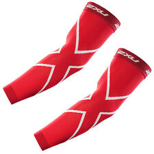 2XU Compression Recovery Arm Sleeves - Red