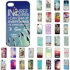 """Case Cover Snap On Rigid For Apple iPhone 4S 5S 5C 6 4.7"""" Plus 5.5"""""""
