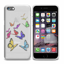 """FLOATING BUTTERFLY BUTTERFLIES GEL CASE SKIN COVER FOR NEW iPHONE 6 4.7"""""""
