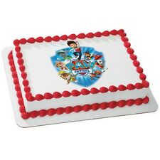 Paw Patrol Yelp for Help ~ Frosting Sheet Cake Topper ~ Edible Image ~ D20033