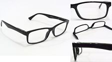 DISTANCE MINUS READERS black optical frame MYOPIA powers from -0.50 to -10.00