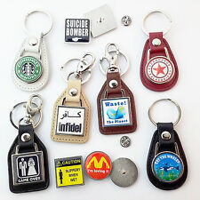 VERY FUNNY, CHILDISH, IMMATURE, ACT YOUR AGE, OFFENSIVE, STUPID... KEY RINGS...