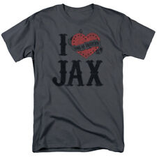 Sons Of Anarchy SOA I Heart Jax Licensed Adult Shirt S-3XL