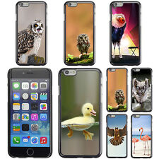 """Bird Owl Pattern Print Hard Phone Case Cover for Apple iPhone 6 Plus 5.5"""" inch"""