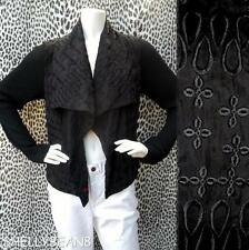 BIYA JOHNNY WAS JWLA Embroidered ELENA Jacket Coat Cardigan Top M & XS $395 NWT