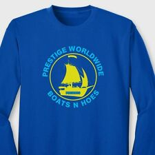 Boats N Hoes Funny Step Brothers T-shirt Prestige Worldwide Long Sleeve Tee