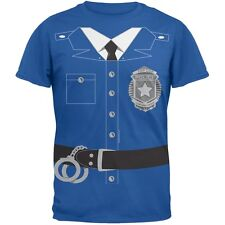 Old Glory - Policeman Costume Youth T-Shirt - Blue