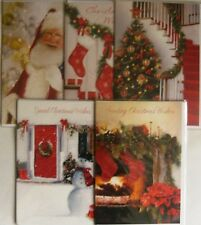 GOOD QUALITY VALUE CHEAP CHRISTMAS XMAS CARD CHOICE OF DESIGNS