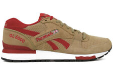 Reebok GL 6000 M42931 New Mens Canvas Red White Black Athletic Running Shoes