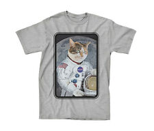NASA Astronaut Cat Authentic Humor NWT Adult T-shirt
