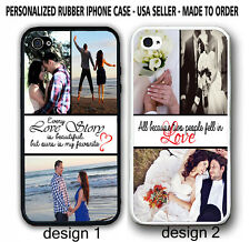 Personalised PHOTO WEDDING LOVE COUPLE Case For iPhone 6 / 6 Plus Custom PICTURE